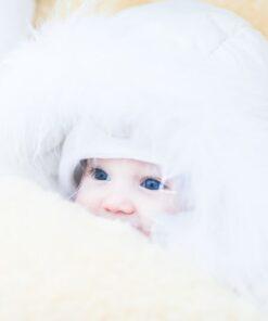 Lammfellprodukte für Ihr Baby