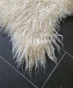 Curly isländisches Lammfell