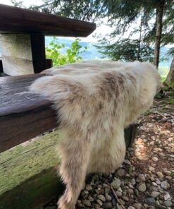 Schweizer Lammfell naturbunt