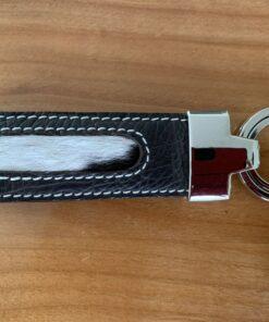 Schlüsselanhänger Kuhfell