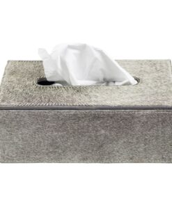 KleenexBox mit Kuhfell
